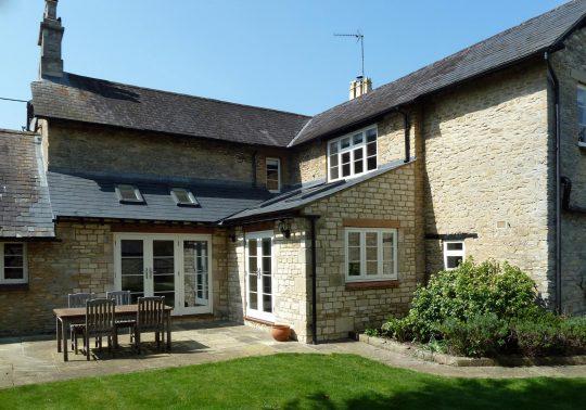 Single storey stone Extension - Chesterton