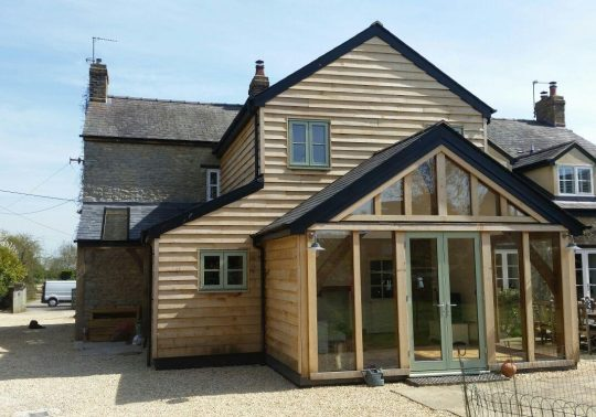 Oak framed extension - Launton, Bicester