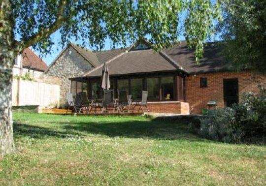 Glazed garden room extension - Grade II Listed