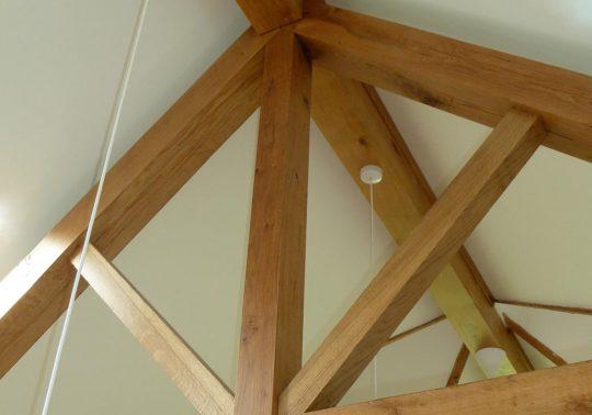 Oak truss extension - Headington, Oxford